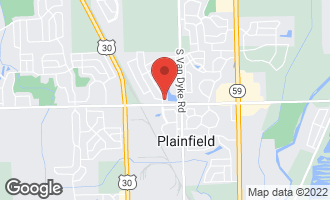 Map of 13443 Vicarage Drive PLAINFIELD, IL 60585