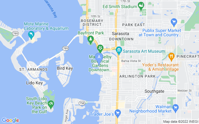 1346 Harbor Dr Sarasota Florida 34239 locatior map
