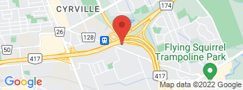Google Map of 1353+Cyrville+Road%2COttawa%2COntario+K1B+3L7