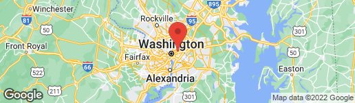 Map of 1355 BRYANT STREET NE WASHINGTON, DC 20018