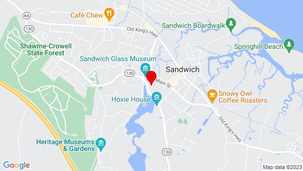 Google Map of 136 Main Street, Ma 02563