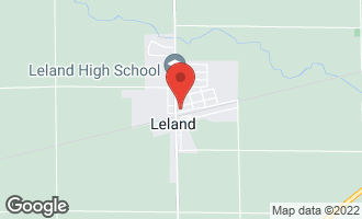 Map of 136 East Railroad Avenue LELAND, IL 60531