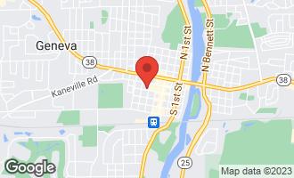 Map of 136 South 5th Street GENEVA, IL 60134
