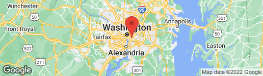 Map of 1363 K STREET SE D WASHINGTON, DC 20003