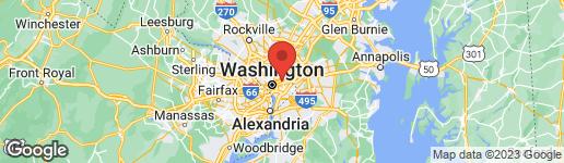 Map of 1364 BRYANT STREET NE WASHINGTON, DC 20018