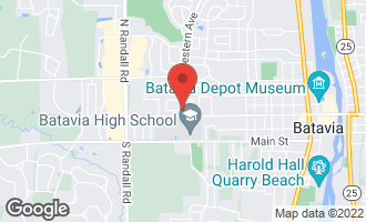 Map of 1366 Georgetown Drive BATAVIA, IL 60510