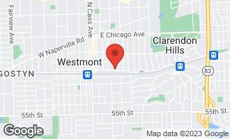 Map of 137 Hiawatha Drive CLARENDON HILLS, IL 60514