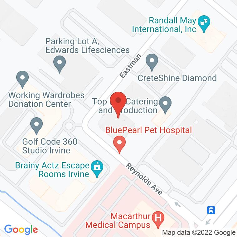 Google Map of 1371 Reynolds Ave, Irvine, CA 92614, 1371 Reynolds Ave, Irvine, CA 92614