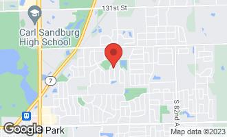 Map of 13716 Tallgrass Trail ORLAND PARK, IL 60462