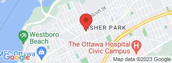 Google Map of 1375+Wellington+Street%2COttawa%2COntario+K1Y+3C2