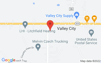 Map of St. Paul Lutheran Church, Office