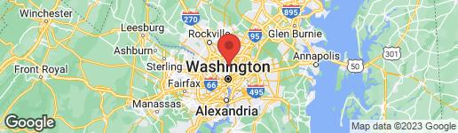 Map of 1379 SHERIDAN STREET NW WASHINGTON, DC 20011