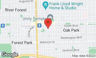 Map of 138 Clinton Avenue #2 OAK PARK, IL 60302