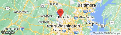 Map of 138 SWANTON LANE GAITHERSBURG, MD 20878