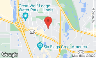 Map of 1380 Stratford Drive #1380 GURNEE, IL 60031
