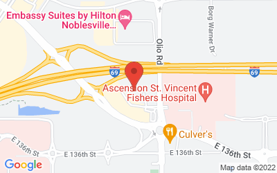 Map of Prime Car Wash Fishers
