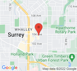 Google Map of 13820+104th+Avenue%2CSurrey%2CBritish+Columbia+V3T+1W9