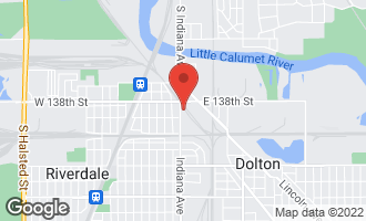 Map of 13833 South Indiana Avenue DOLTON, IL 60419