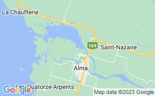 Map of Camping Dam-En-Terre