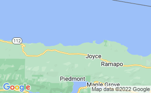 Map of Whiskey Creek Beach NW