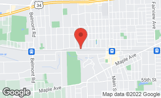 Map of 1385 Warren Avenue C DOWNERS GROVE, IL 60515