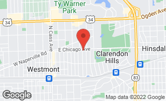 Map of 139 Arthur Avenue CLARENDON HILLS, IL 60514