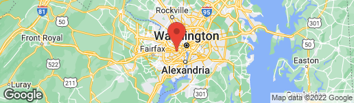 Map of 139 PARK DRIVE N ARLINGTON, VA 22203