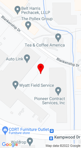 Google Map of All Play, Inc 13903 Van Wall St, Houston, TX, 77040