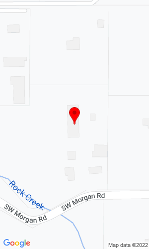 Google Map of Powerscreen Oregon 13925 S.W. Morgan Road, Sherwood, OR, 97140