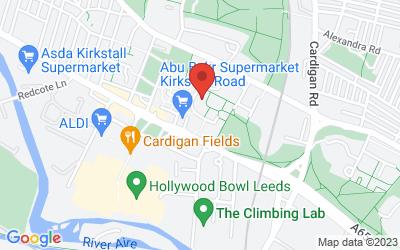 Map of 14 St Matthias Street, Leeds LS4