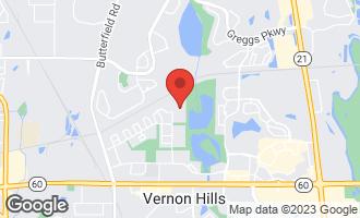 Map of 14 Echo Court #4 VERNON HILLS, IL 60061