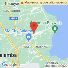 Registry of Deeds Calamba Office Map