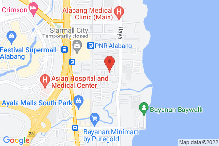 Map of T G I FRIDAY S Alabang
