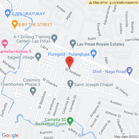 Distinct Lumber And Hardware on Map (42 Real Street, Pamplona, Las Pinas City, Metro Manila) Map