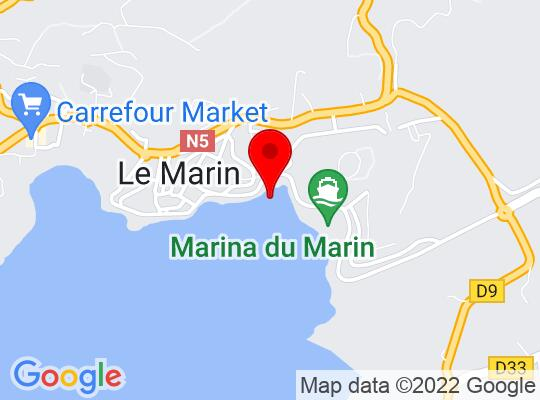 Google Map of Le Marin