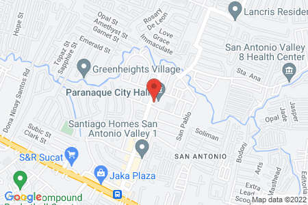 Map of Brownies Unlimited SM Bicutan