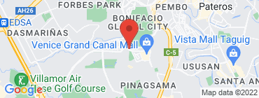 Map of Adobo Connection - Mckinley Hill