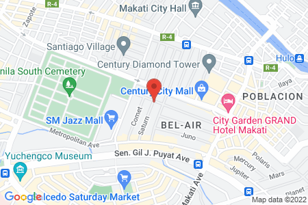 Map of Cafe Mary Grace