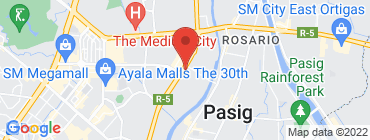 Map of Mom and Tina's Bakery Cafe - Pasig