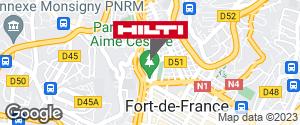 Espace Hilti - Dom-Tom Ets Laguarigue - Fort de France / Martinique