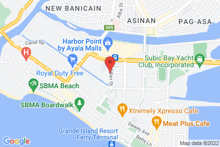 Map of Subic International Hotel