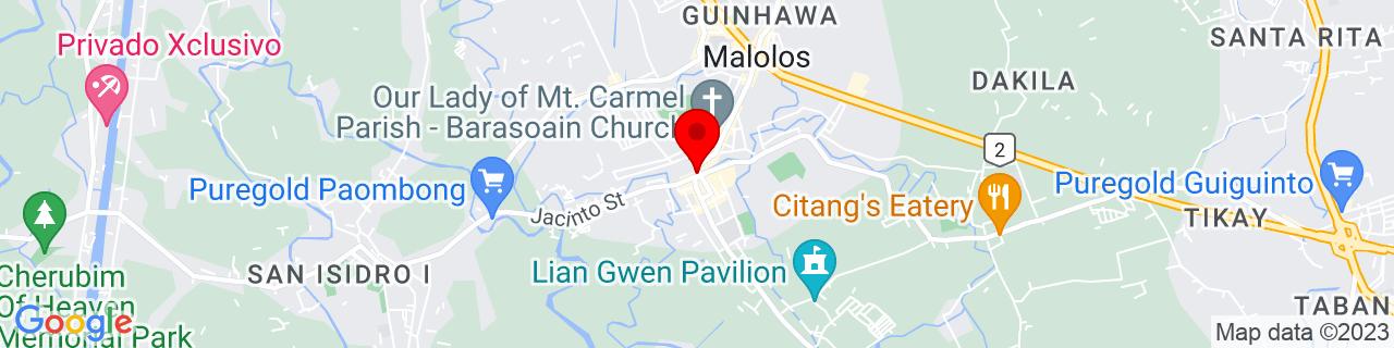 Google Map of 14.843759, 120.8113694