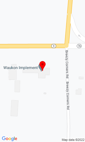 Google Map of Waupun Equipment Co., Inc. 140 Highway 9 Sw, Waukon, IA, 52172-0487