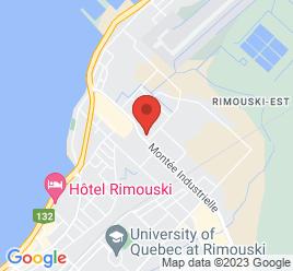 Google Map of 140+Mont%C3%A9e+Industrielle-Et-Commerciale%2CRimouski%2CQuebec+G5M+1B1