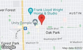 Map of 140 North Euclid Avenue #302 OAK PARK, IL 60302