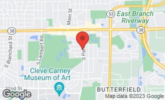 Map of 140 South Park Boulevard GLEN ELLYN, IL 60137