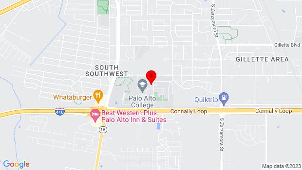 Google Map of 1400 W. Villaret Blvd., San Antonio, Texas 78224
