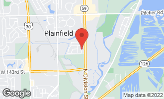 Map of 14003 South Kelly Avenue PLAINFIELD, IL 60544