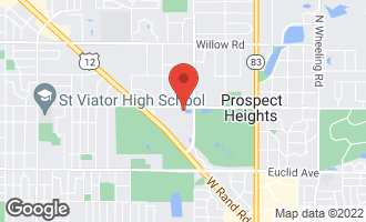 Map of 1401 Apple Court D MOUNT PROSPECT, IL 60056