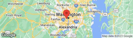 Map of 1401 OAK STREET N #307 ARLINGTON, VA 22209